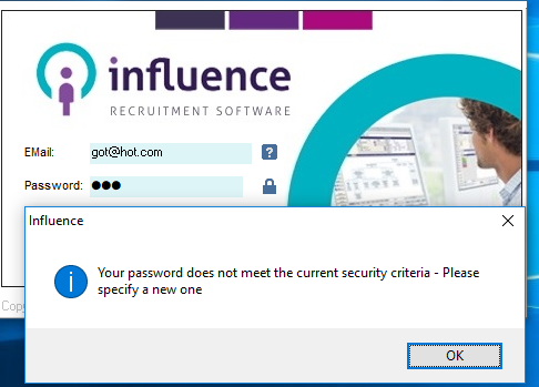 Enhanced Security Passwords Influence Limited